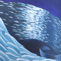 Sea Swarm | Acrylic on canvas | 2009