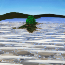 Snake Island, Clearwater Lake | Acrylic on canvas | 2009